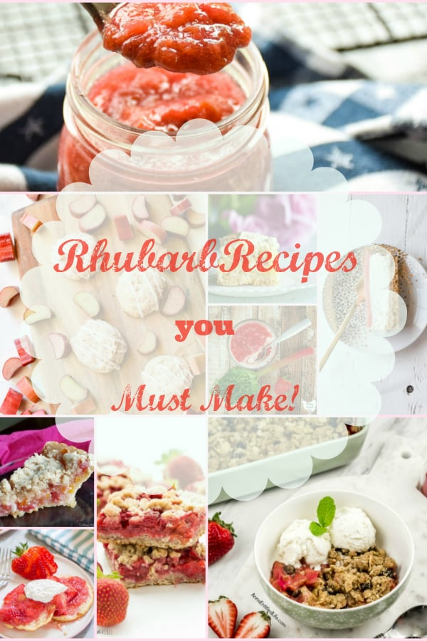 Sweet Rhubarb Recipes you must make