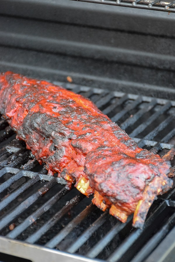 Slow Grilled Dry Rub Baby Back Ribs