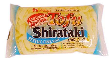 Tofu Shirataki Noodles Fettuccine Shape, 10 bags
