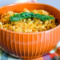 3 Ingredient Cauliflower Spanish Rice