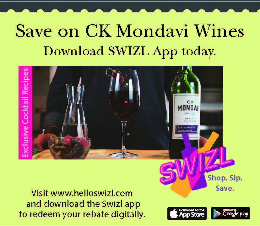 CK Mondavi and Family Swizl Offer