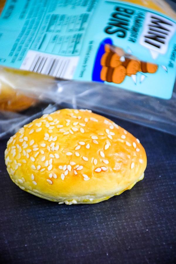Mini burger buns