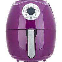 Cook's Essentials 3.4-qt Digital Air Fryer w/ Presets & Pans (Eggplant)