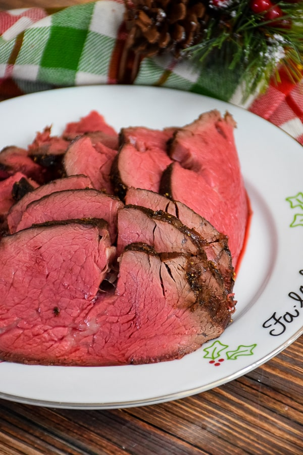 Sweet Black Pepper Tenderloin Roast