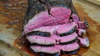 Sweet Black Pepper Whole Beef Tenderloin Roast