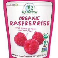 Natierra Nature's All Foods Organic Freeze-Dried Raspberries, 1.3 Ounce