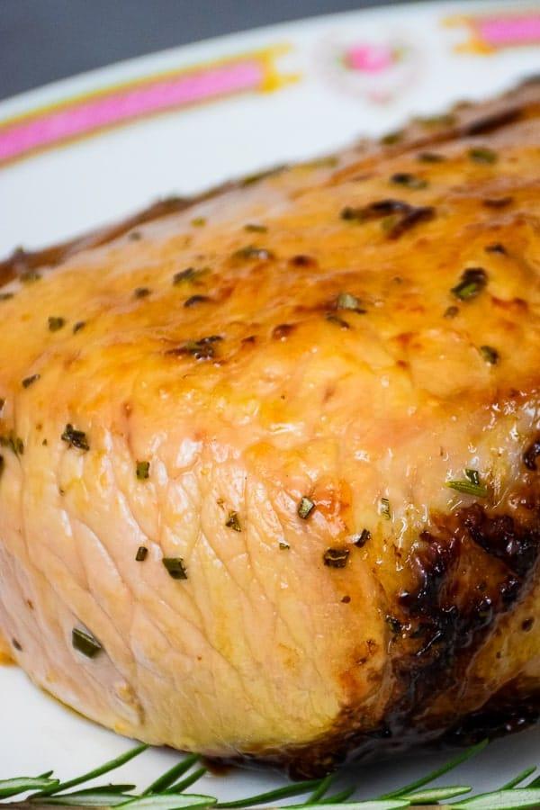 Maple Glazed Pork Loin Air Fryer Recipe
