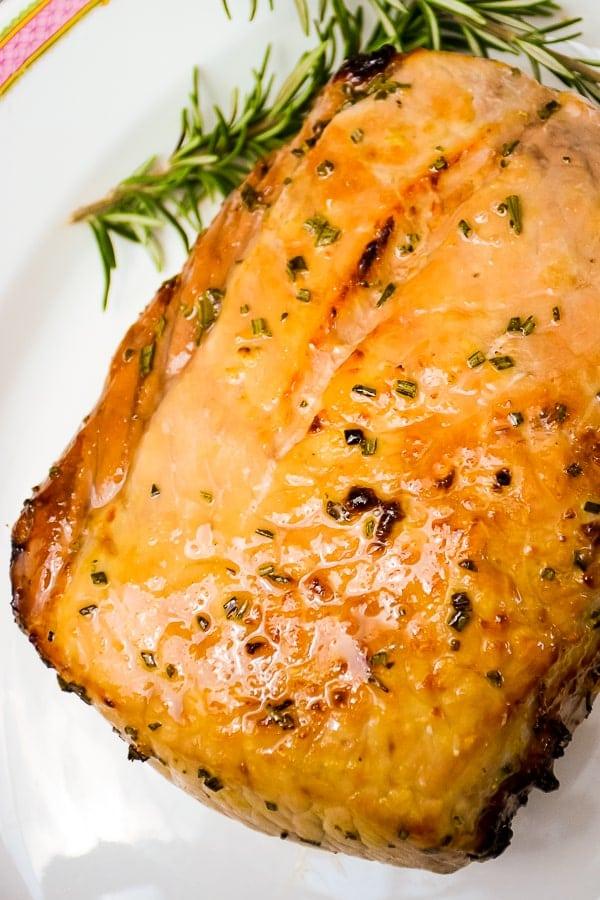 Maple Glazed Pork Loin Air Fryer #pork #maple #airfryer #porkloin