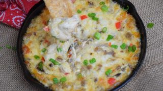 Philly Style Cheesesteak Skillet Dip