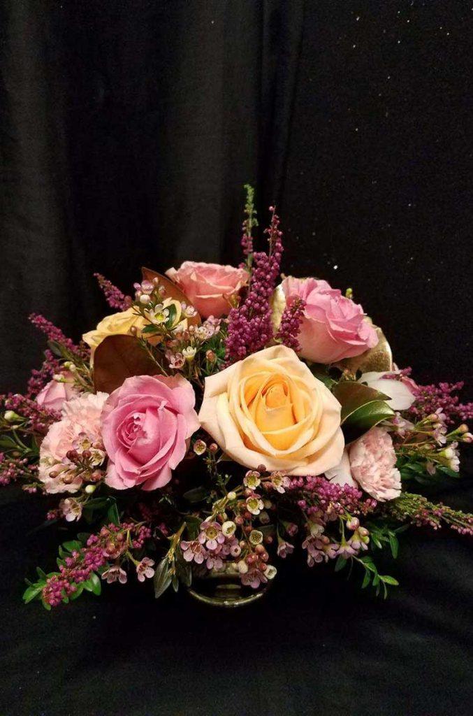 Floral arrangement by Albany florist Ambiance Florals