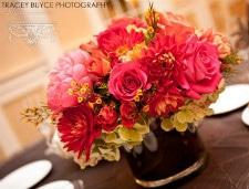 Floral arrangement by Albany florist Renaissance Floral Design