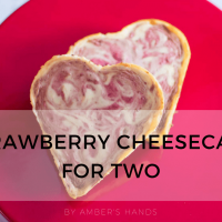 Keto Strawberry Cheesecake For Two: Love and Low Carb