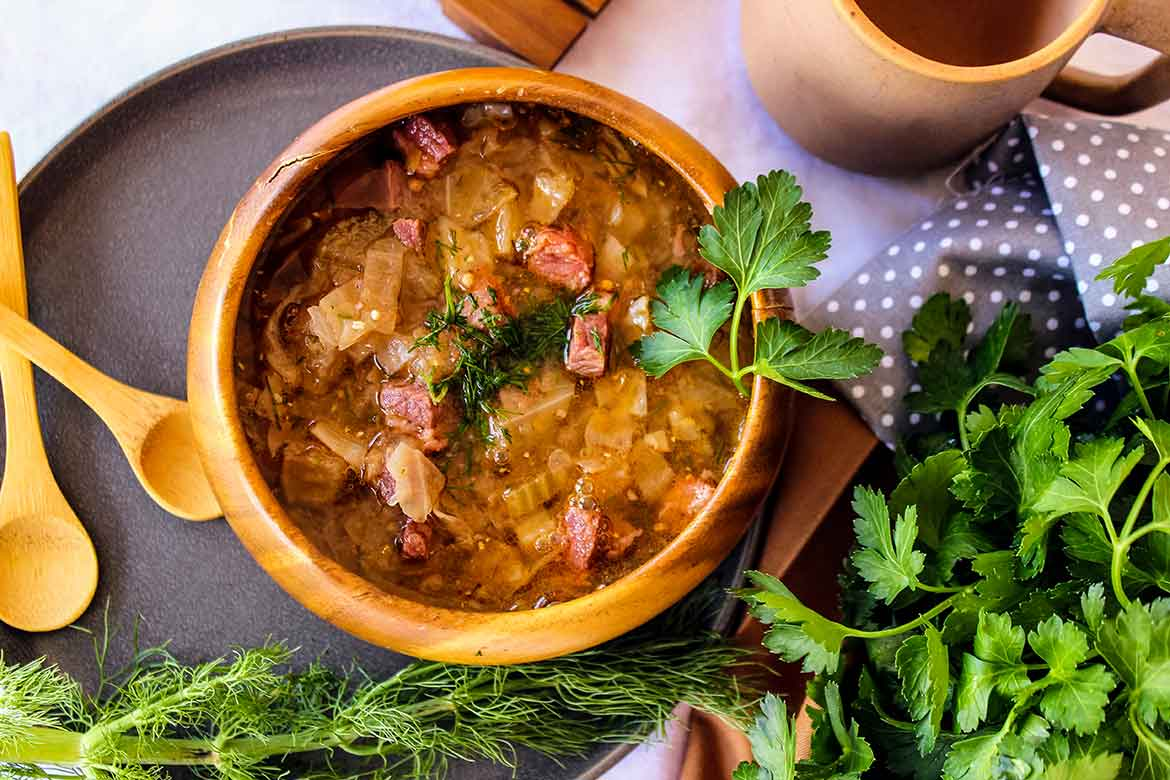 Corned Beef and Cabbage Soup – Keto Recipe