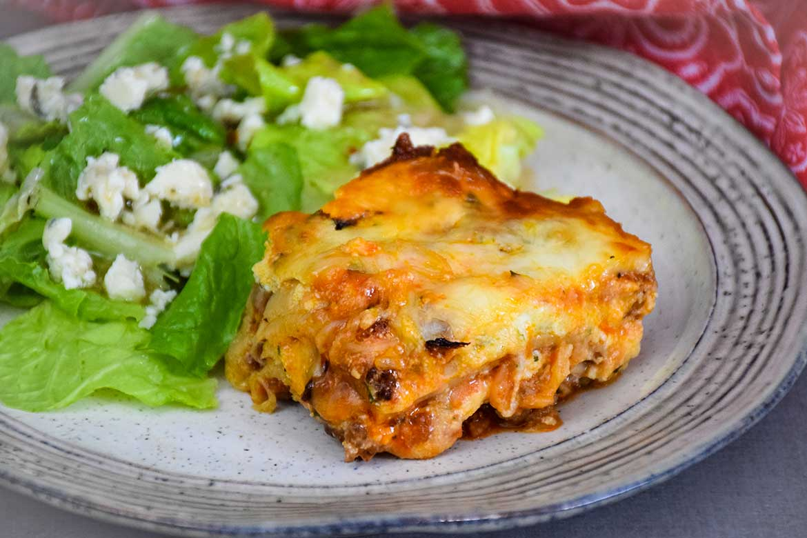 Low Carb Lasagna – Keto Friendly Italian Classic