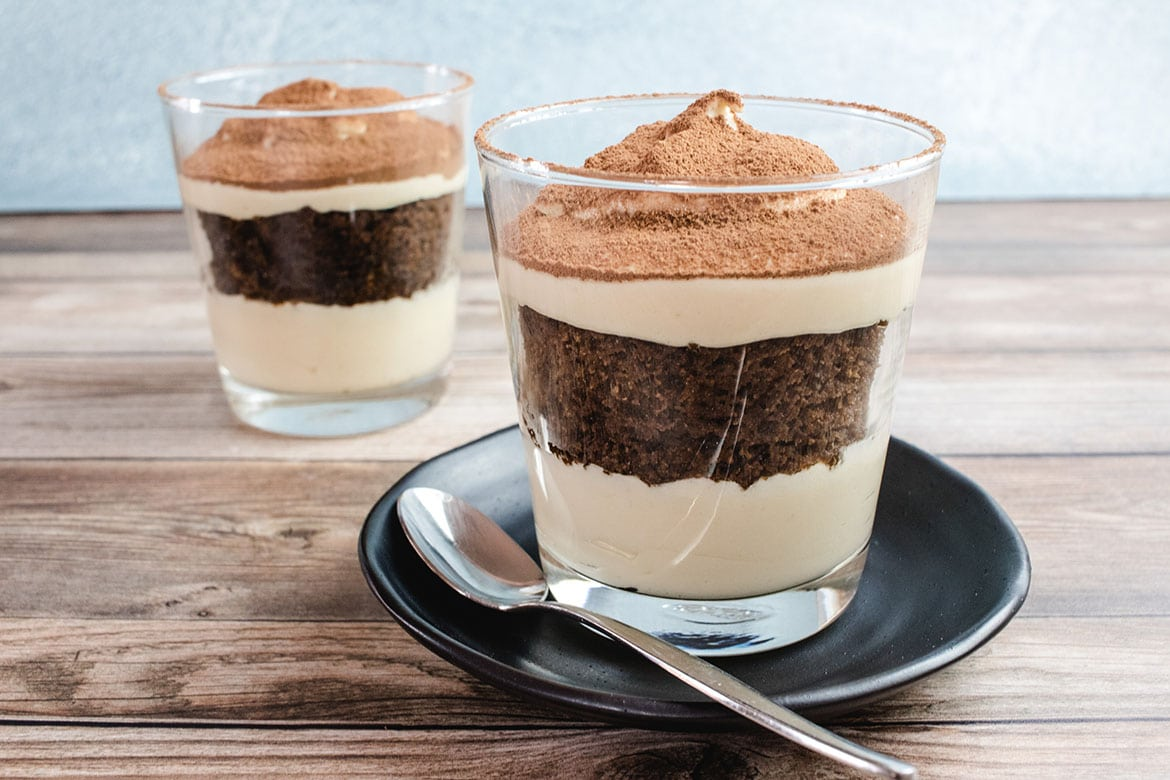 Keto Tiramisu – Dessert for Two