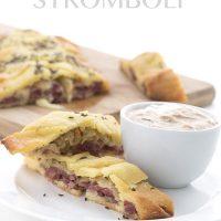 Low Carb Reuben Stromboli