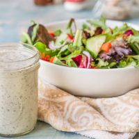 Dairy Free Homemade Ranch Dressing - low carb too!