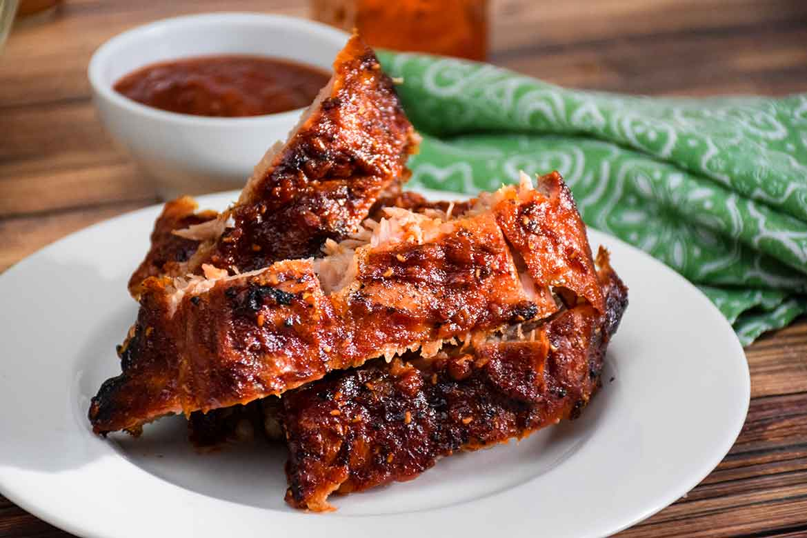 Raspberry Chipotle Sauce for  Pork Back Ribs
