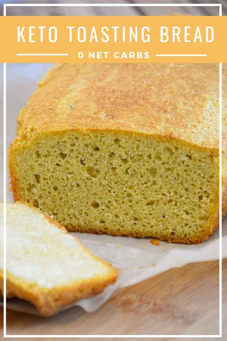 Keto Bread - made with Almond Flour for toasting - Grumpy's