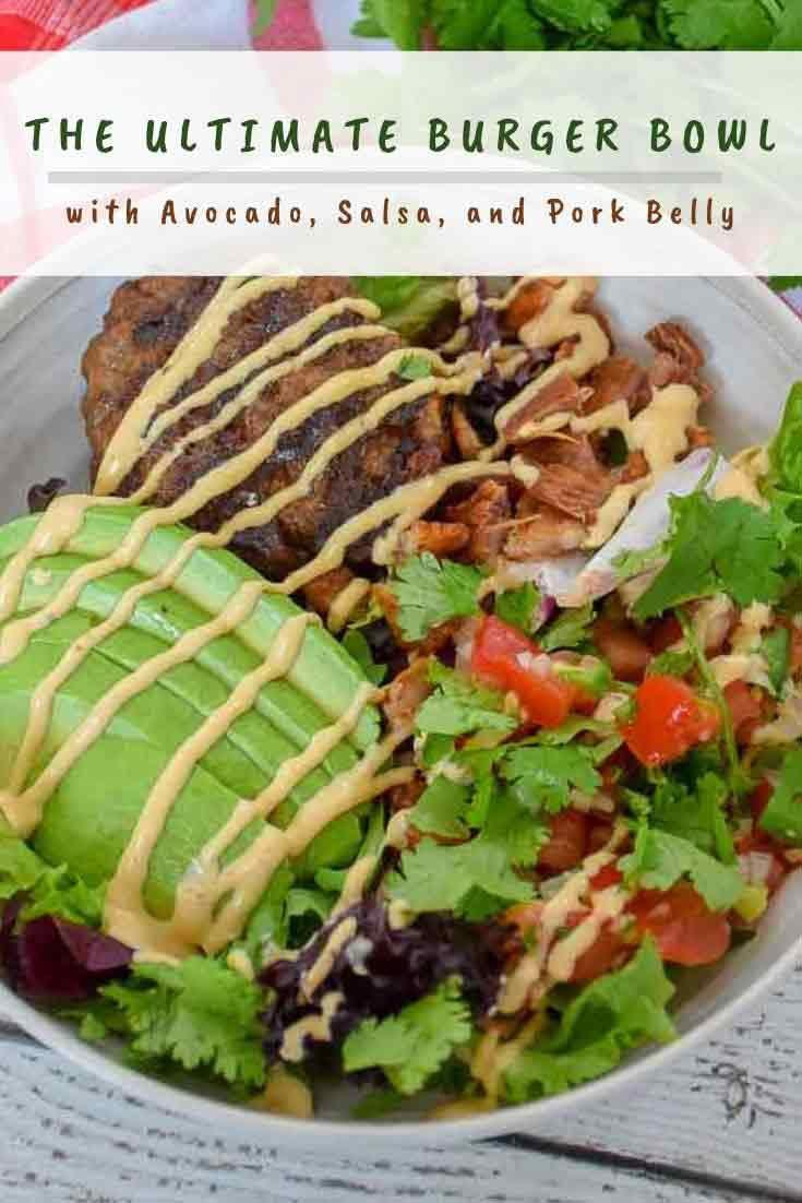 The Ultimate Burger Bowl #bestangusbeef #sponsored #burger #bowl #grilling