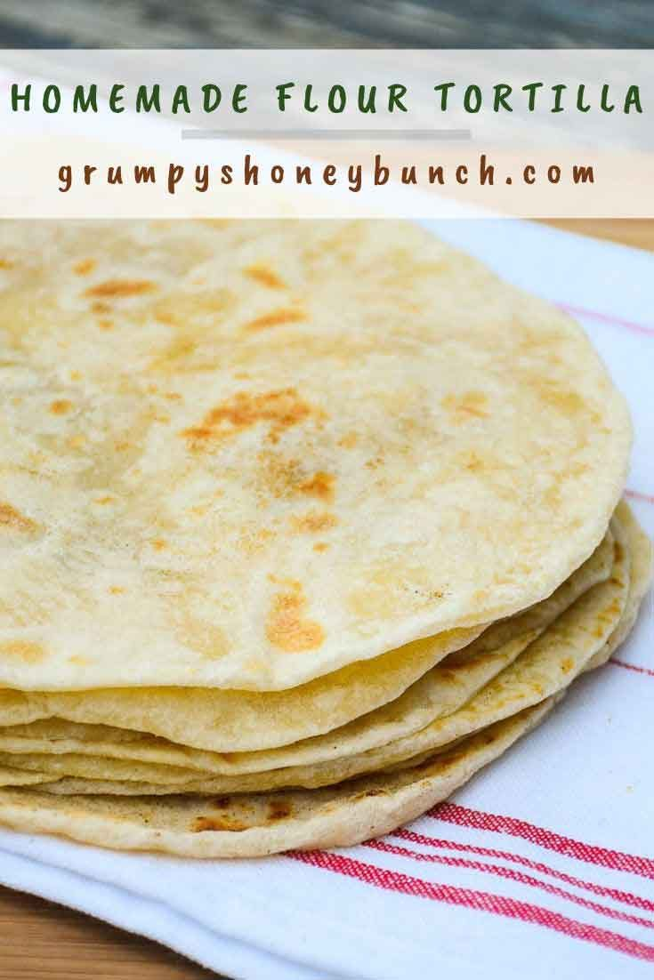 Homemade Flour Tortillas #tortillas #homemadetortillas #tortillarecipe #flourtortillas