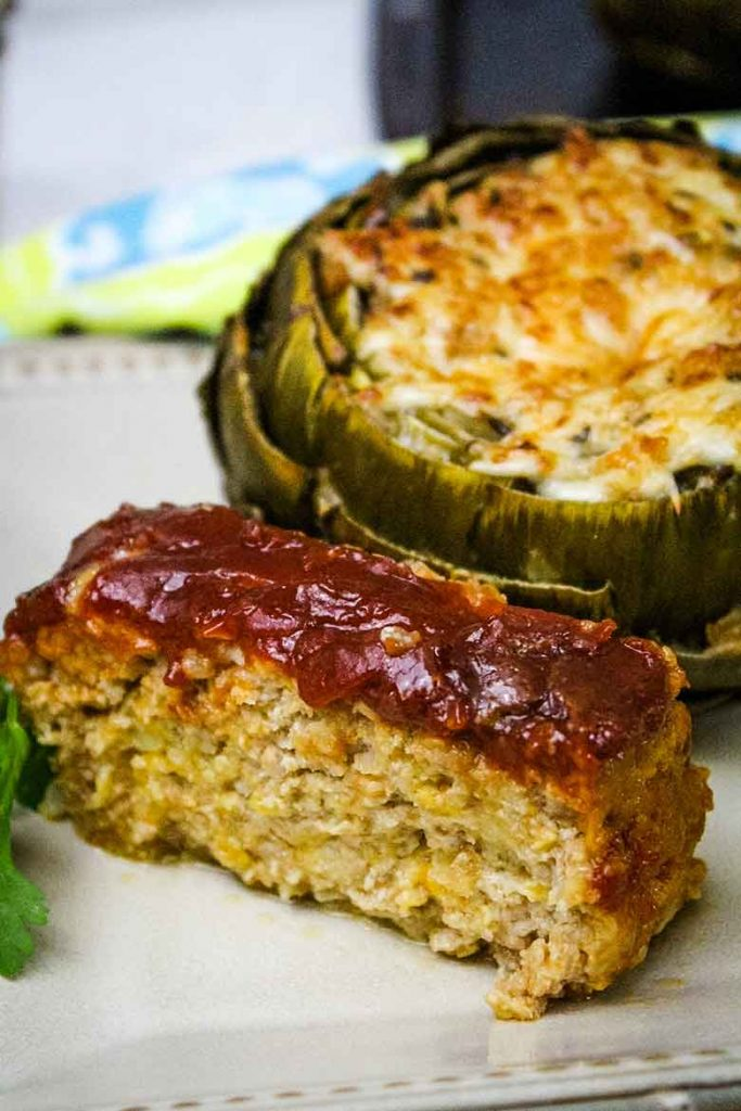 Sweet and Sour Meatloaf with Ground Veal