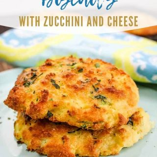 Low Carb Biscuits with Zucchini and Cheese