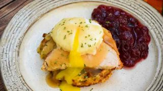 Thanksgiving Eggs Benedict