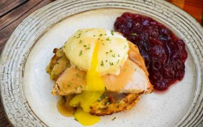Thanksgiving Eggs Benedict – Leftovers Recipe