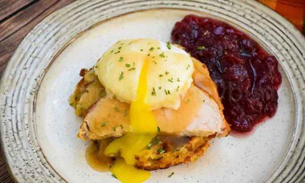 Thanksgiving Eggs Benedict – Leftovers Recipe
