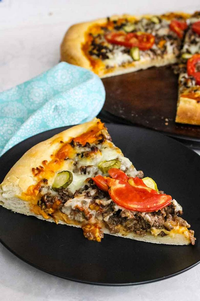 Cheeseburger Pizza Recipe
