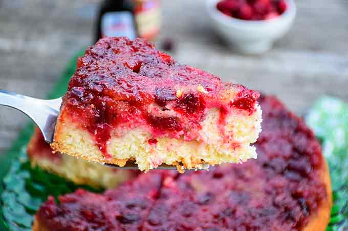 Cranberry Upside Down Cake  – Holiday Recipe