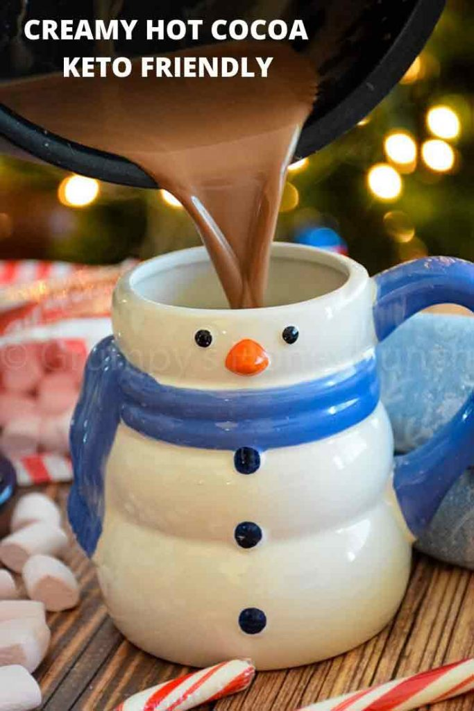 PINNABLE IMAGE FOR CREAMY HOT COCOA WITH PEPPERMINT
