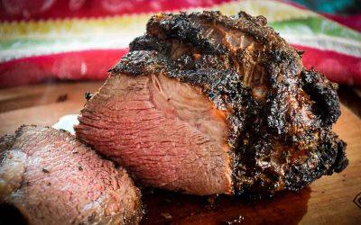 Air Fryer Roast Beef – with Herb Crust