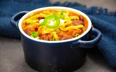 Beef Chili Recipe – Ready in 30 minutes