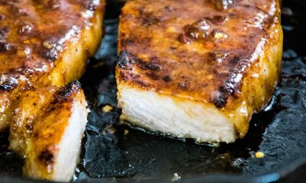Honey Garlic Pork Chops – Skillet Recipe for Two