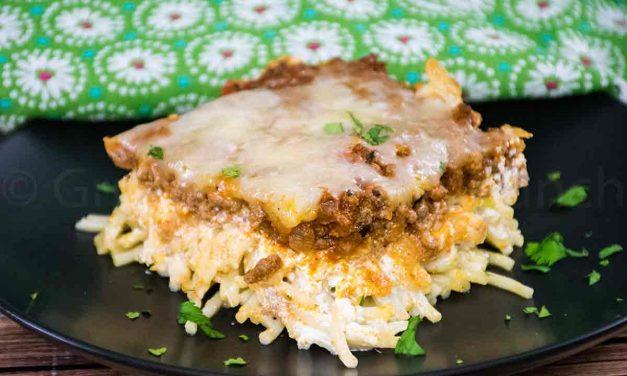 Spaghetti Pie – Oven Baked Casserole