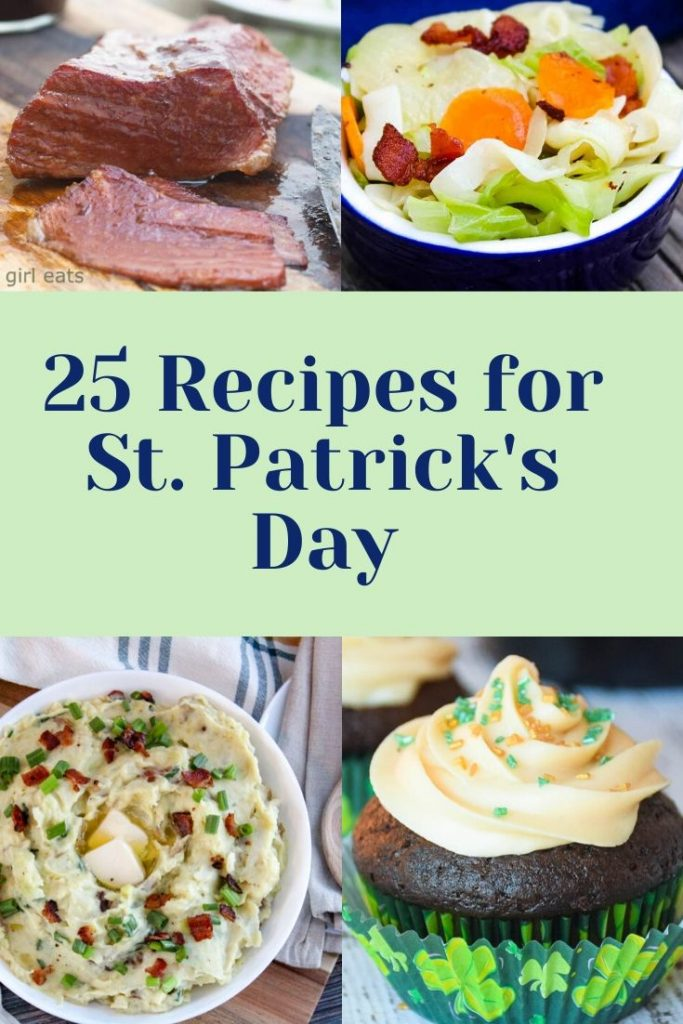 25 Recipes for St. Patrick's Day