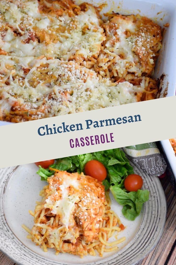 Chicken Parmesan Casserole #chicken #casserole #cheese #parmesan #familyrecipe #recipeoftheday