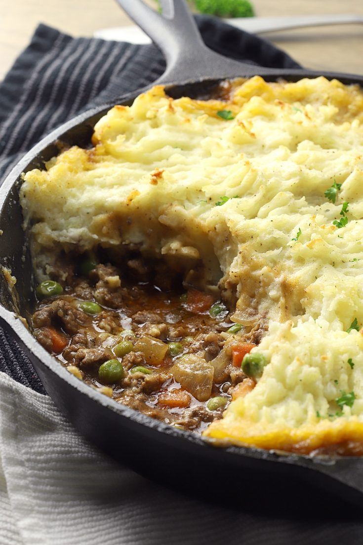 Guinness Cottage Pie - The Toasty Kitchen