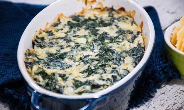 Spinach Artichoke Dip – Low Carb Keto