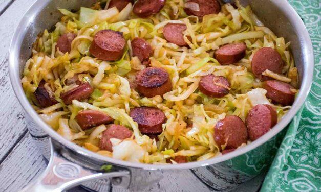 Cabbage and Kielbasa Skillet Recipe