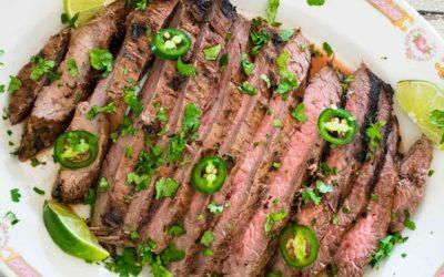 Carne Asada – Marinated Flank Steak