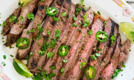 Carne Asada – Marinated Flank Steak